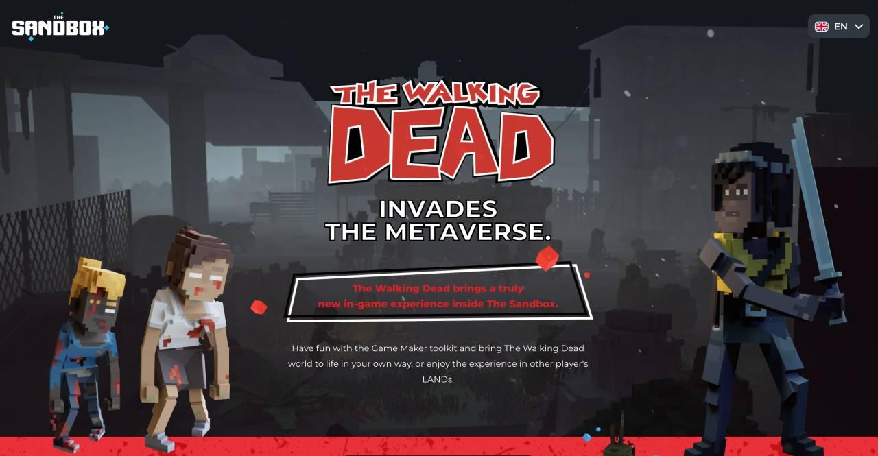 Juego de The Sandbox The Walking Dead